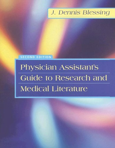 Physician Assistant's Guide to Research and Medical Literature 9780803612440