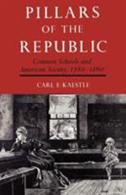 Pillars of the Republic: Common Schools and American Society, 1780-1860 9780809001545