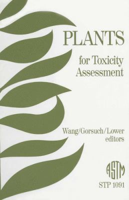 Plants for Toxicity Assessment 9780803113978
