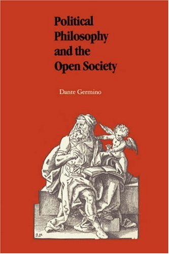 Political Philosophy and the Open Society 9780807109748