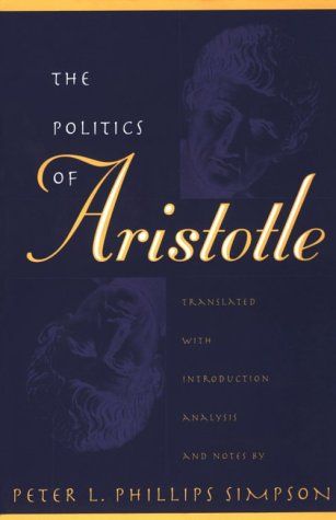 Politics of Aristotle 9780807846377