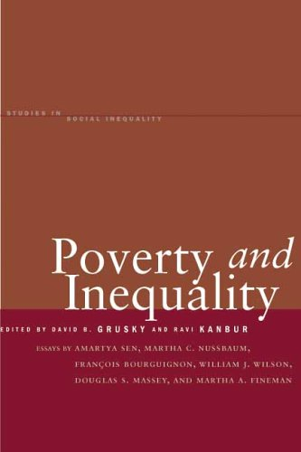 Poverty and Inequality 9780804748438