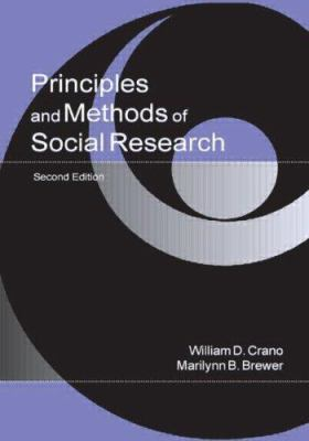 Principles and Methods of Social Research 9780805839036