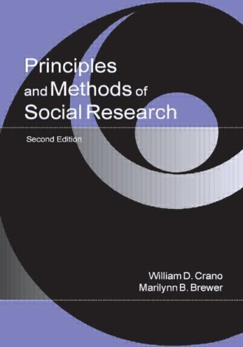 Principles and Methods of Social Research 9780805839043