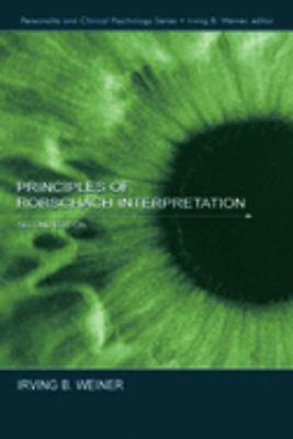 Principles of Rorschach Interpretation 9780805842326