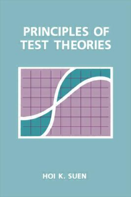 Principles of Test Theories 9780805801989