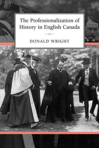 Professionalization of History in Englis 9780802039286