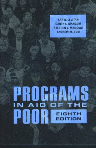 Programs in Aid of the Poor 9780801871221