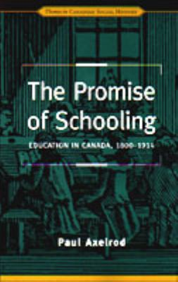 Promise of Schooling 9780802008251