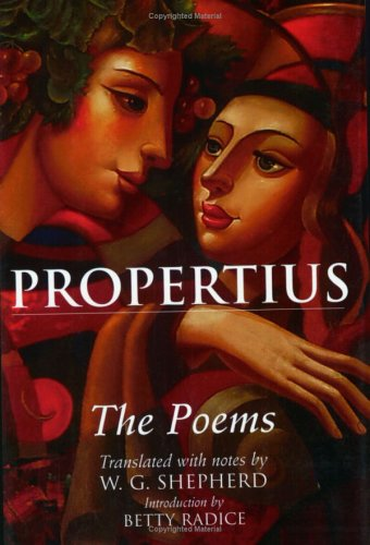 Propertius: The Poems 9780806136431