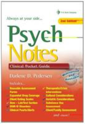 Psych Notes: Clinical Pocket Guide 9780803618534