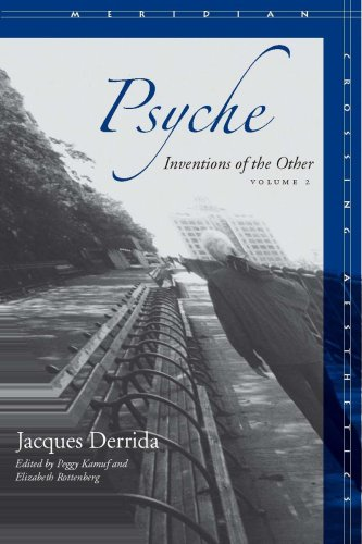 Psyche, Volume 2: Inventions of the Other 9780804757669