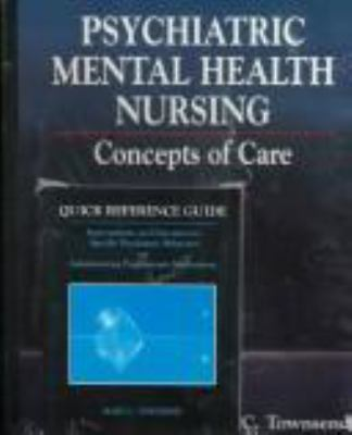 Psychiatric/Mental Health Nursing: Concepts of Care 9780803601062