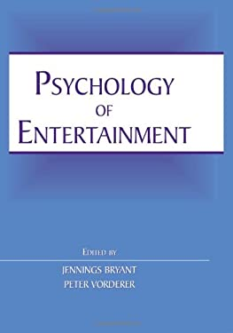 Psychology of Entertainment 9780805852370