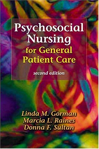 Psychosocial Nursing for General Patient Care 9780803608023