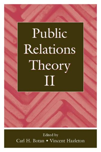 Public Relations Theory II 9780805833843