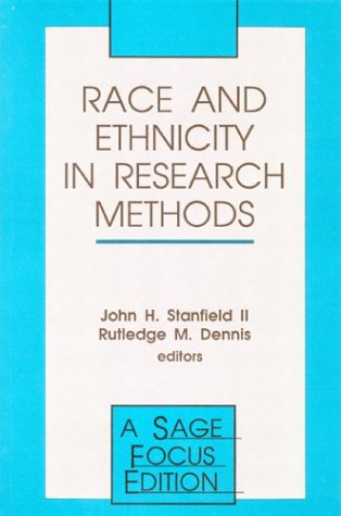 Race and Ethnicity in Research Methods 9780803950078