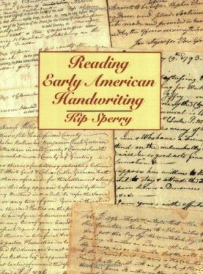 Reading Early American Handwriting 9780806308463