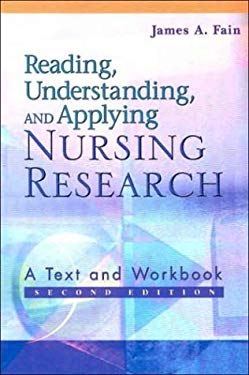 Reading, Understanding, and Applying Nursing Research 9780803611122