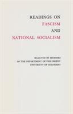 Readings on Fascism and National Socialism 9780804002592