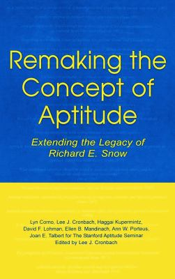 Remaking the Concept Aptitude 9780805835328