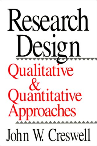 Research Design: Qualitative and Quantitative Approaches 9780803952553