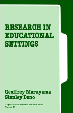 Research in Educational Settings