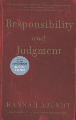 Responsibility and Judgment 9780805211627