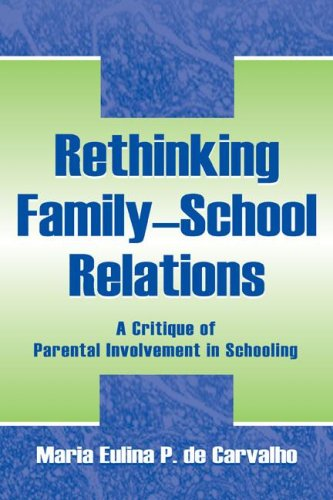 Rethinking Family Sch.Relations CL 9780805834963