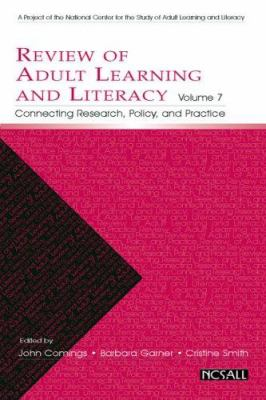 Review of Adult Learning and Literacy: Connecting Research, Policy, and Practice 9780805861648