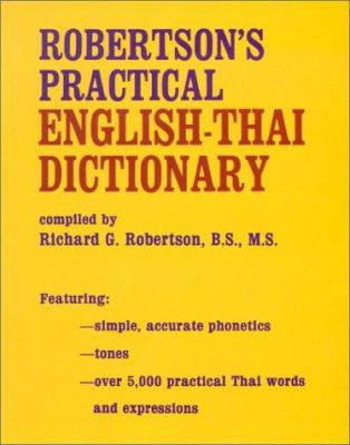 Robertson's Practical English-Thai Dictionary 9780804807067