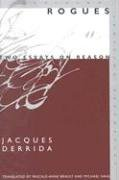 Rogues: Two Essays on Reason 9780804749510