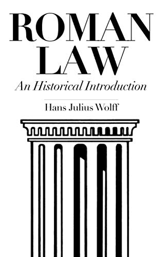 Roman Law: An Historical Introduction 9780806112961