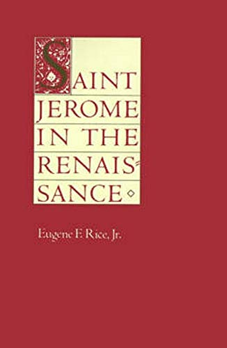 Saint Jerome in the Renaissance 9780801837470