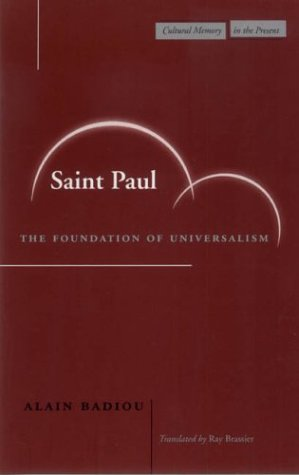 Saint Paul: The Foundation of Universalism 9780804744713