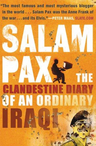Salam Pax: The Clandestine Diary of an Ordinary Iraqi 9780802140449