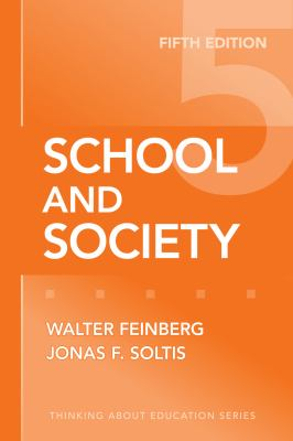 School and Society 9780807749852