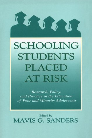 Schooling Students Placed Risk PR 9780805830903