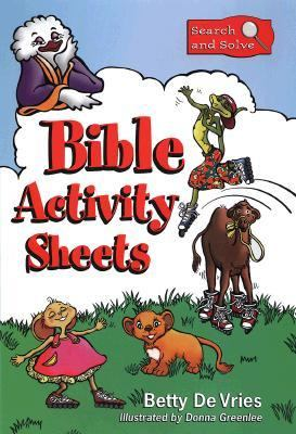 Search and Solve: Bible Activity Sheets 9780801057700
