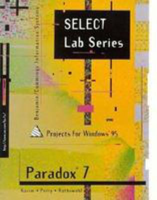 Select Paradox 7.0 for Windows 95 9780805327021