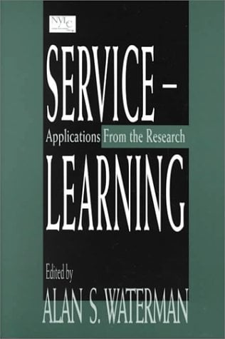 Service-Learning: Applications from the Research 9780805825367
