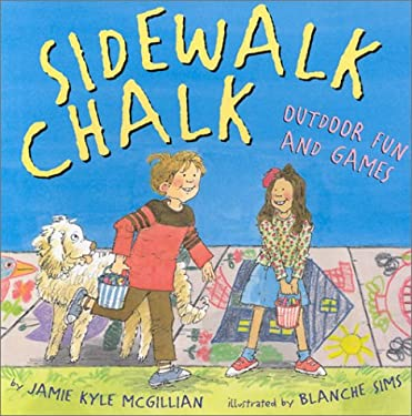 Sidewalk Chalk: Outdoor Fun and Games 9780806979052