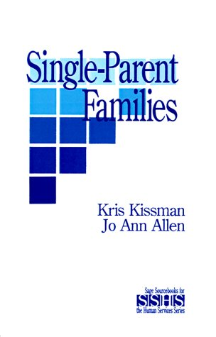 Single Parent Families 9780803943230