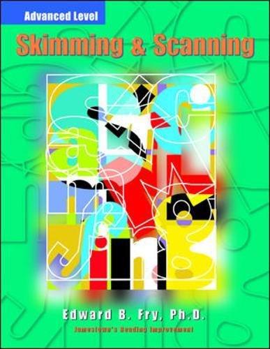 Skimming & Scanning, Advanced 9780809203635