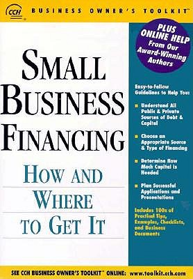 Small Business Financing: How and Where to Get It 9780808002390