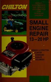 Small Engine Repair 13-20 HP 3228474