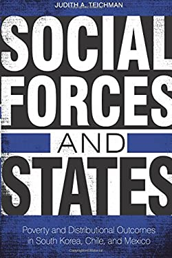 Social Forces and States: Poverty and Distributional Outcomes in South Korea, Chile, and Mexico 9780804778268