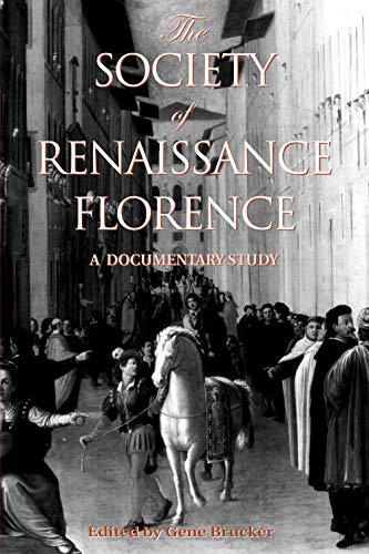 Society of Renaissance Florenc 9780802080790