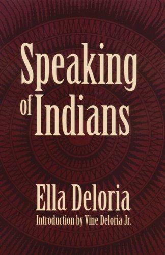 Speaking of Indians 9780803266148