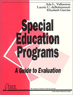 Special Education Programs: A Guide to Evaluation 9780803960343